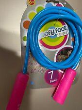 New In Packaging Jump Rope Goofy Foot Designs 7 Feet