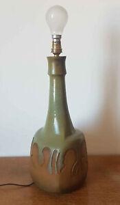 Lampe vintage années 50-60 en céramique signée Joan Lluis