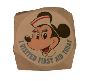 Vintage Disney Mini Mouse Sticker