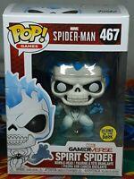 Marvel Spider-Man Spirit Spider GITD #467 Pop Bobble-Head Figure Funko Aus