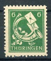 SBZ-Thüringen MiNr. 95 AX d p2 postfrisch MNH geprüft (G883