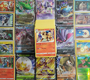 Pokemon Card 100 OFFICIAL TCG Card Lots - Ultra Rare EX, GX, V or VMax Included!