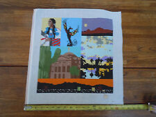 Discounted Hand Painted Needle Point Canvas Southwest-Spiritual Nations Theme