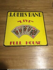 "Album 33 tours J.GEILS BAND - ""live"" FULL HOUSE"
