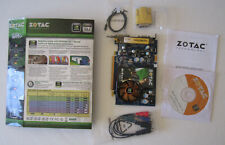 ZOTAC GeForce 8600 GT DirectX 1GB 128-bitDDR2 SPDIF D/V/TV-outHDTV Graphics Card