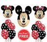 Mickey Minnie Mouse Theme Birthday Party Foil Air/Helium Fill Balloon UK seller