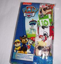 7 Paw Patrol Brief Toddler Boys 2T 3T Underwear Cotton NIP Multi-color Prints