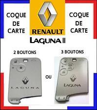 COQUE CARTE de remplacement 2 ou 3 boutons RENAULT LAGUNA 2, livré sous 48H!!
