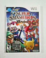 Super Smash Bros Brawl Video Game Nintendo Wii 2008 (Complete)