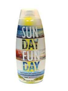 Tanovations Sun Day Fun Day Indoor/Outdoor Dark Tanning Cocktail Lotion 10 oz