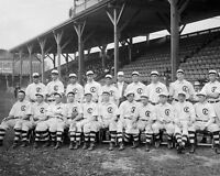 1908 Chicago Cubs World Series Champions Glossy 8x10 Photo Vintage Poster Print
