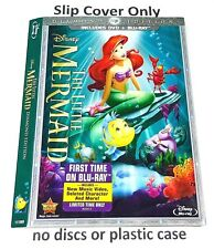 The Little Mermaid - Slip Cover Only - (no blu ray) Diamond Edition