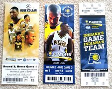 INDIANA PACERS PLAYOFFS TICKET LOT - 16 TICKETS 1992-2014 - RARE ONE-OF-A-KIND!
