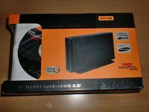"Trekstor Externe Festplatte 500Gb External Hard Drive 3.5"" Aluminium"