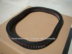 K&N FILTER 69-71 MoPar SIX PACK Hemi Air Cleaner & AIR GRABBER RAMCHARGER HOODS