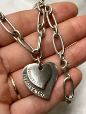 Large genuine Tiffany & Co silver necklace- 31,95 grams weight