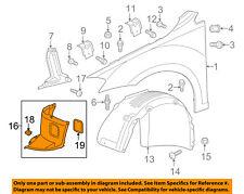 VW VOLKSWAGEN OEM Front Fender-Liner Splash Shield Extension Right 5G0805912S