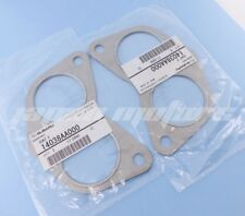 GENUINE SUBARU EXHAUST MANIFOLD GASKET TURBO WRX STI XT GT 14038AA000   SET OF 2