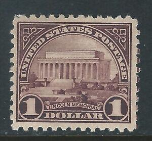 Bigjake:#571, $1.00 Lincoln Memorial - *NH