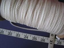 """A2398 BRAID TRIM Rayon Fancy Braid White 1/4"""" W 10 Yds"""