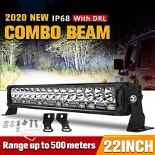 "22""inch 280W LED Light Bar Spot Flood Combo Offroad Pickup Truck ATV SUV 4WD 24"""