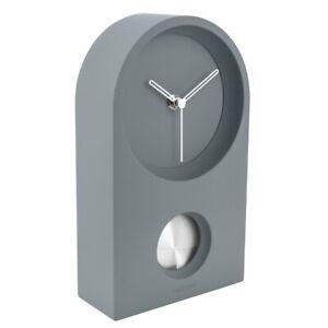 Karlsson Wanduhr/Tischuhr Taut grau – Zeitlose Uhr für ein modernes Zuhause ♡