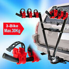 3 BIKE REAR TOWBAR MOUNT CYCLE BICYCLE CARRIER CAR RACK TOW BAR TOWBALL 50mm New