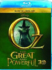Lot of 100 Disney Oz the Great and Powerful Blu-ray 3D & Digital Copy New