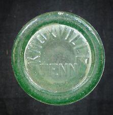 Coca Cola Bottle - D-105529 Patent - KNOXVILLE TENN - Coke Botttle B