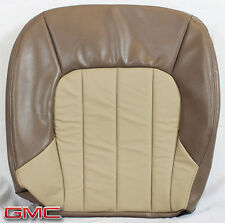 2002 2003 GMC Envoy XL SLT 4X4 2WD -Driver Side Bottom Leather Seat Cover TAN