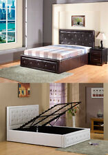 Ottoman Storage Bed Diamante Storage Bed Available in 4ft6 Double 5FT Kingsize