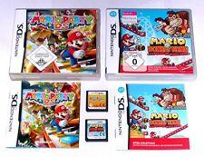 Spiele: MARIO PARTY + MARIO VS DONKEY KONG für Nintendo DS + Lite + 3DS + XL