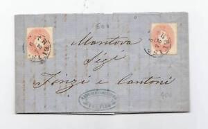 10492-LOMB.VENETO-5+5 SOLDI TREVISO/MANTOVA 1862