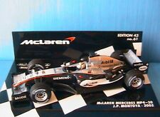 MCLAREN MERCEDES MP4-20 #10 2005 JP MONTOYA MINICHAMPS 530054310 1/43 F1 GP