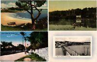 BERMUDA CARIBBEAN ISLAND 13 Vintage Postcards Mostly pre-1940