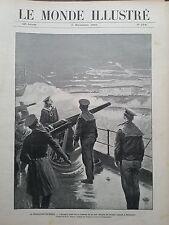 LE MONDE ILLUSTRE 1905 N 2541 LA REVOLUTION EN RUSSIE: LES MUTINES DE SEBASTOPOL