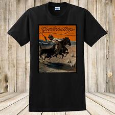 New Galveston T-Shirt 1907 Antique Sheet Music Western Art Texas Cowboy & Horses