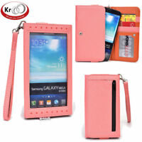 Kroo Clutch Wristlet Wallet with Screen for Smartphone up to 6.3 Inch