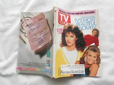 TV GUIDE Magazine-AUGUST 10,1991-AMERICA PICKS:TV'S MOST BEAUTIFUL WOMEN