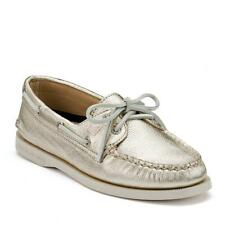 Sperry Top-Sider A/O Women's Gold Metallic Boat Shoe 5M