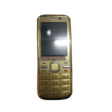 Cellulare originale Nokia C5-00i 5MP GPS Bluetooth sbloccato Altoparlant Oro