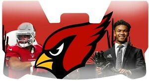 Custom Cardinals Kyler Murray Football Helmet Visor, W/ Unbranded Clips