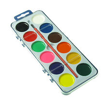 1 x WATER COLOUR SET , Paint Brush , Art  WATERCOLOR Kids Toy School Painting
