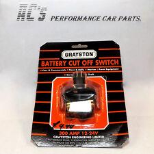 Battery Cut-Off Switch + 2 Spare Red Keys (KEY54) -  (Not FIA) - (GE54)