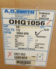 AO SMITH OHQ1056 Motor 1/2 hp 1050 RPM 115V 4 Speed Century Magnetek
