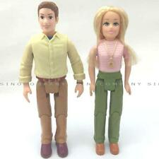 6inch Fisher Price Loving Family 2006 Mom Dad Figure Dolls For Dollhouse M686C