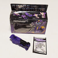 Transformers G1 Astrotrain Triple Changer w/BOX INSTRUCTIONS Vintage 1985 Hasbro