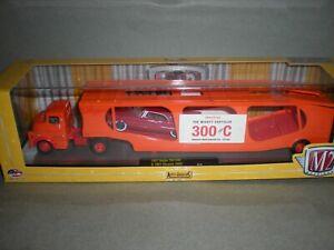 1/64th M2 Auto Hauler 1957 Dodge 700 COE & 1957 Chrysler 300 C