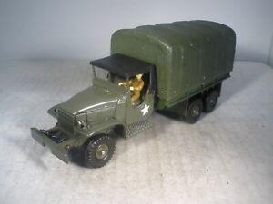 Dinky Toys Military Army GMC 6 X 6 TRUCK #809 NEAR MINT
