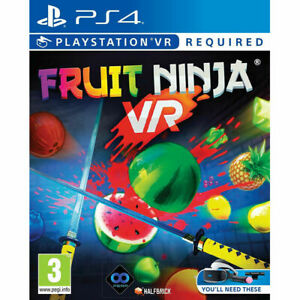 Fruit Ninja VR Sony PlayStation 4 PS4 VR / PSVR Game (Age 3+)